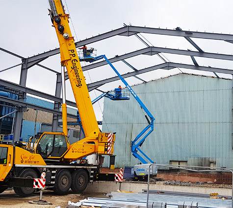 full service fabrication to construction
