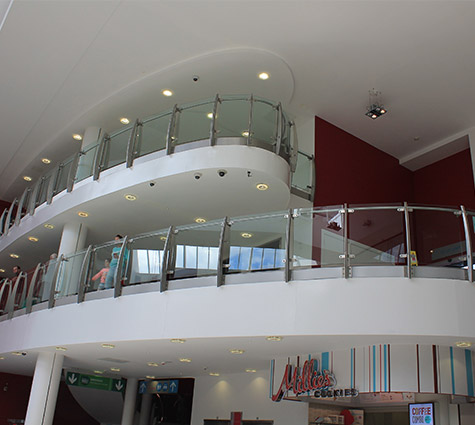 commercial balustrade example