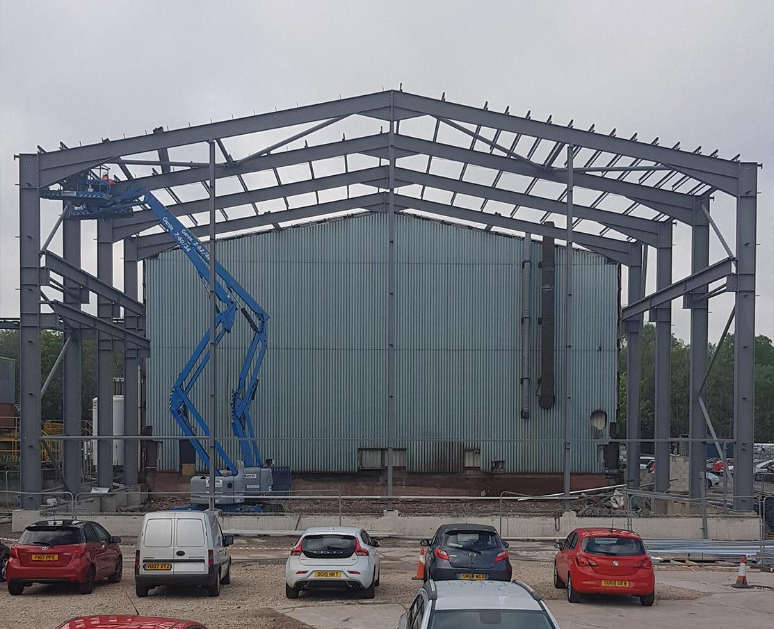 Steel Portal Frame