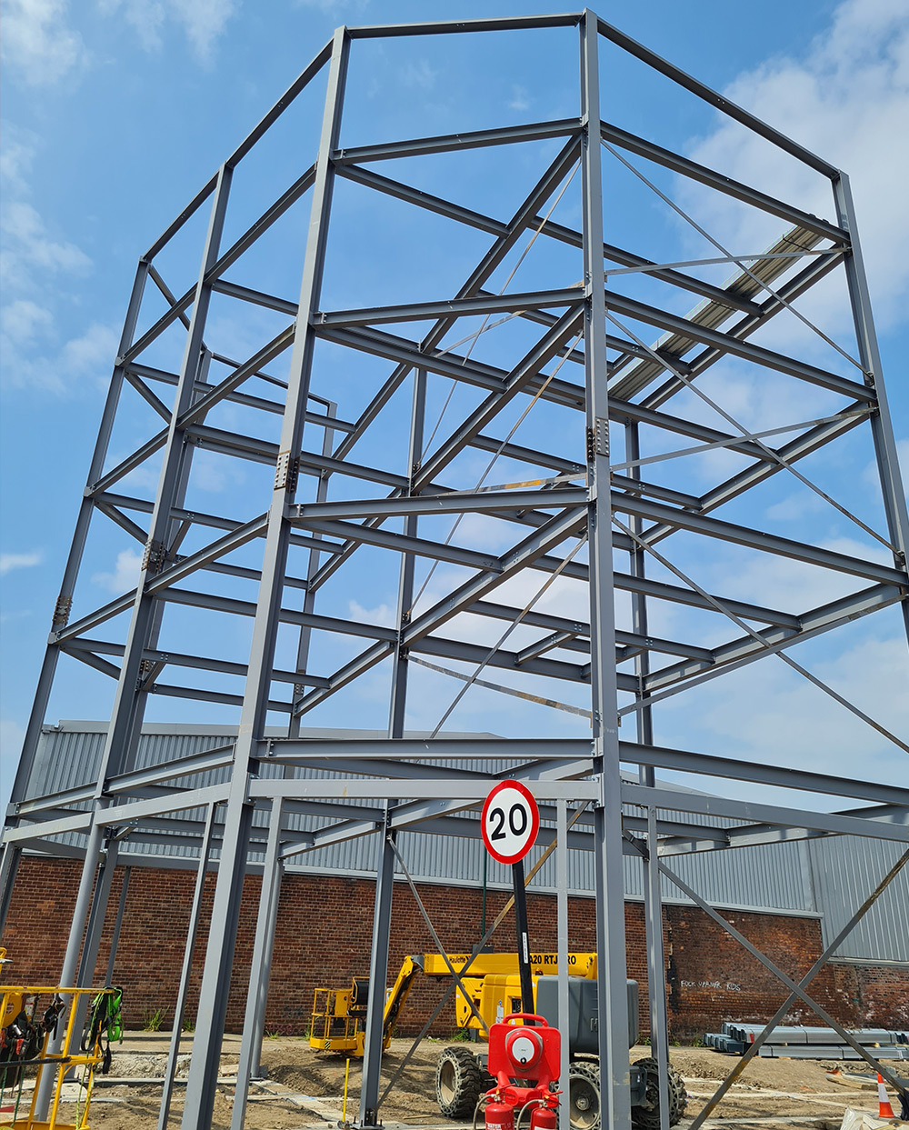 Tall Steel Structure June 2021
